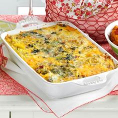 Spinach Hash Brown Frittata  Recipe from Taste of Home