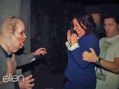 Ellen DeGeneres freaks out staffers by sending them to 'Walking Dead' haunted house