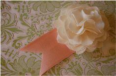 DYI Linen Flowers