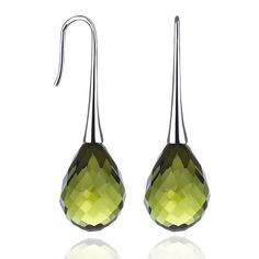 Linden Green Earrings
