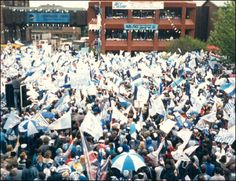 Check out this photo of a jam packed Coventry city centre after the Sky Blues' FA Cup win in 1987!