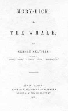 Moby-Dick; or The Wh