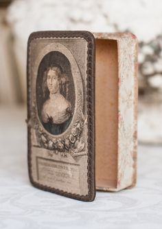 Antique French Candy Box
