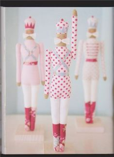 Tilda - Tin Soldier - Free Pattern. This is a scanned page from a book by Tone Finnanger. She is the creator of all those cute cottage 'Tilda dolls' and many other toy patterns. Many of her books have been translated into english, but not all. You can buy them in book stores and online.