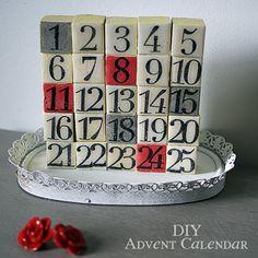 #DIY #ChristmasDecor Advent Calendar @savedbyloves