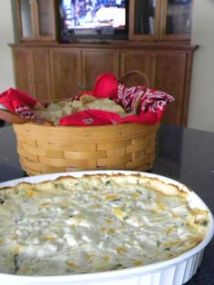 Disappearing Chicken Dip - yummy tailgate bite!