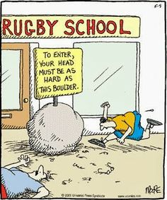 Rugby School #rugby #humor