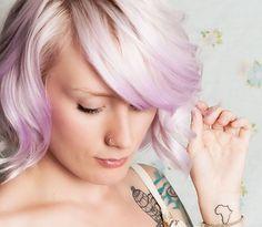 lavender hair :)