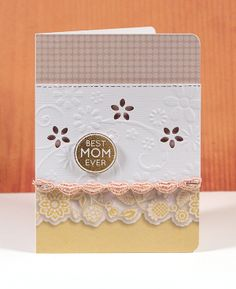 Mother's Day Card by Kristina with the May 2013 Card Kit by Simon Says Stamp.