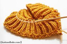 Brioche stitch. Cowl Sweater Shrug - easy, free knitting pattern from Knitandbake.com, using the brioche stitch.