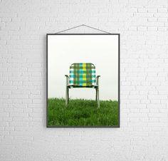 Lawn Chair Photography Minimal Modern Summer