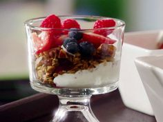 Homemade Granola Parfait Recipe : Damaris Phillips : Food Network - FoodNetwork.com
