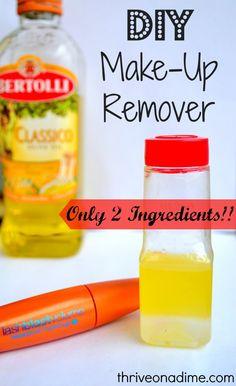 DIY Make-Up Remover...Only 2 Ingredients!