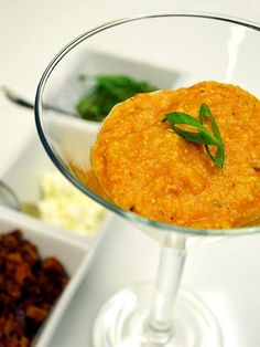 Our Smoky Tomato Grits... Chef starts with smoky tomatoes roasted with ...