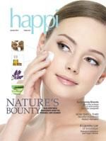 """Happi Magazine Mask Feature Spots A Genius!  In an article about facial masks, the Happi magazine editor calls Arbonne Intelligence Genius a """"stroke of Genius"""" in the mask market."""