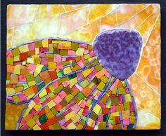 Sun Song, mosaic by Pamela Goode (Love her work!)