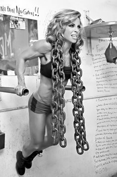 This is my inspiration. Ava Cowan-IFBB Figure Pro. Where I want to be one day. In the world of bodybuilding and women's physique. This picture is the background on my desktop. To get me pumped and ready to take on whatever the day has to throw at me.