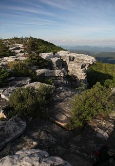 The beautiful Dolly Sods wilderness in WV