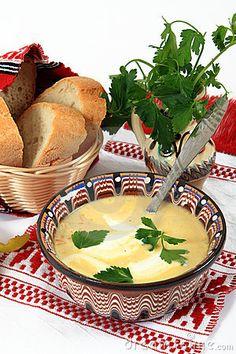 Traditional cuisine in Romania: tripe soup