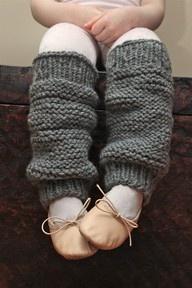 Little leg warmers for little legs.