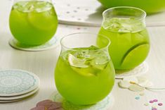 Sparkling Pineapple-Lime Punch recipe