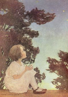 "Twinkle, twinkle , little star"", by Jessie Wilcox Smith."