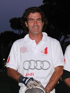 Luca d'Orazio from Italy - a frequent player at the Cortina Winter Polo Gold Cup and 5-time winner.