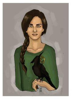 Katniss the Mockingjay by ~Bleunite on deviantART