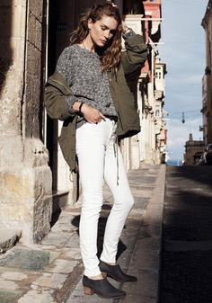 High Riser Skinny Skinny Jean Madewell Spring 2014, Erin Wasson on location in Malta #denimmadewell