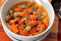 Indian Quinoa Chickpea Stew