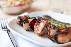 Greek Chicken Kabobs!  Opa!