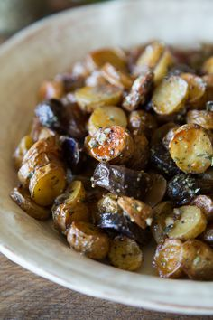 Mustard and Herb Fingerling Potato Salad