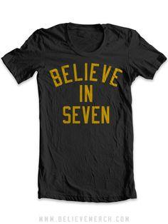 I don't Believe in miracles, I Believe in Seven   $25.99 http://pinterest.com/hamptoninnmonro/ #hamptoninnmonroeville http://www.facebook.com/#!/HamptonInnMonroeville #pittsburghhotel