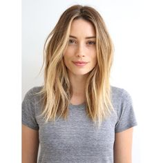 Chop! Perfect Fall Haircuts From L.A.'s Top Stylists #refinery29   This wavy, long-layered cut might be simple, but it's totally gorgeous. It's also proof that you don't have to make a dramatic change to freshen up your look for fall.