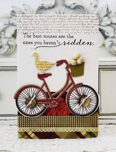 The Best Routes...Handmade Card by lilybeanpaperie on Etsy
