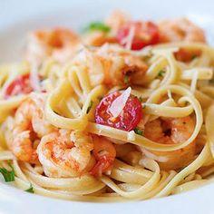 Shrimp Scampi Linguine Recipe - Rasa Malaysia & ZipList
