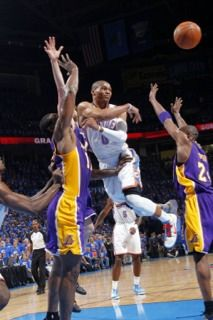 2012 Round 2 Game 5 against Lakers