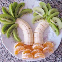 ...bananas kiwi and oranges