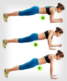 CHALLENGE YOURSELF! This plank variation excerise can make your abs workout even more effective: http://www.womenshealthmag.com/fitness/plank-exercise?cm_mmc=Pinterest-_-womenshealth-_-content-fitness-_-makeplanksharder