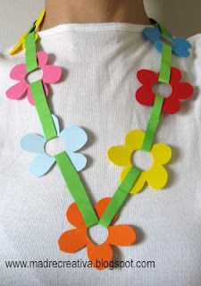 Mother's Day: Craft for kids to make for grandma's, aunts...