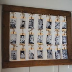 I have a simple decorating idea for you that is inexpensive, easy, and meaningful! This would also make a cute homemade Mother's Day gift. Today, I'll show you how to create a mini gallery photo wall using a cork board, office tags, photos, photo adhesive, twine, and corsage pins!