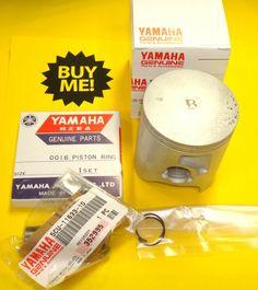 1999-2000 Yamaha YZ250 Std. Piston Kit 5CU-11630-00 Piston - Rings - Clips - Pin