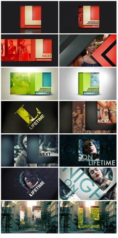type & image through graphic shape