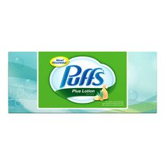 Puffs Plus Lotion Facial Tissues - HAS TO HAVE THE LOTION! <3