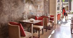 On Rodeo at Luxe Rodeo Drive Hotel offers great food and even better people watching.