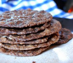 Nutella Oatmeal Thins - Recipe