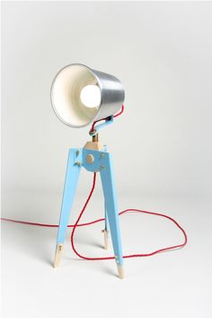Frank Table Lamp by Oliver Hrubiak at Coroflot.com