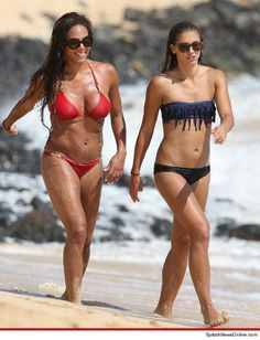 USA Soccer Babes Alex Morgan and Sydney Leroux --T&A and R&R in Hawaii