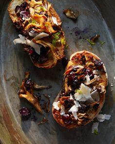 foods, hungri ghost, ghosts, concord grape, ghost food, wild mushrooms, roast mushroom, roasted veggies, roast concord