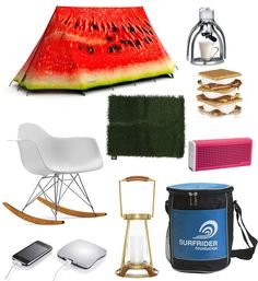 Girls Gone Glamping: 10 Essentials for Luxury Camping. @SWELL #swellblog